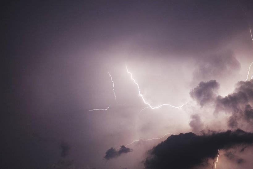 无人,横图,室外,白天,仰视,美景,闪电,景观,乌云,云,阴天,云朵,云彩