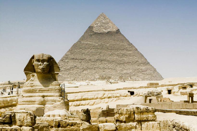 古建筑,蓝色,白云,蓝天,天空,阳光,天,享受,休闲,旅游胜地,金字塔