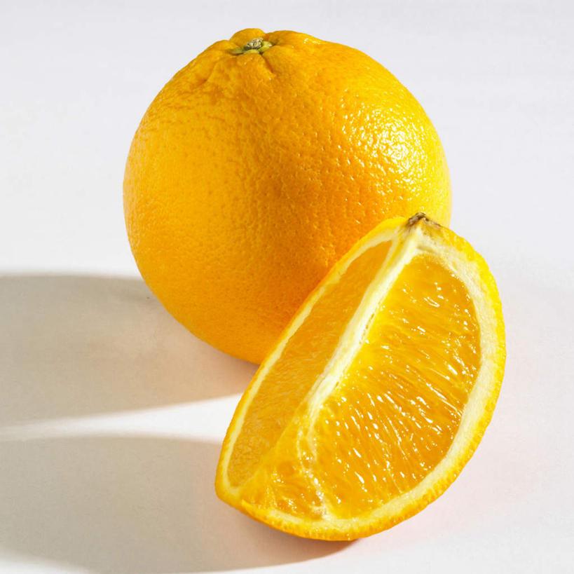 无人,方图,俯视,室内,特写,白天,白色背景,餐桌,桌子,柑橘,水果,切开