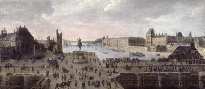 度假,绘画,河流,美景,水,城市风光,城市,道路,建筑,路,油画,雕塑,法国