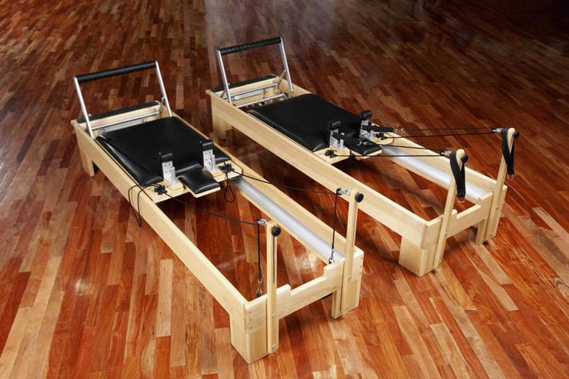 无人,健身房,横图,俯视,室内,白天,地板,静物,地面,运动器械,木地板