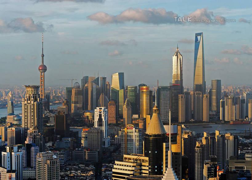 天际线,城市风光,标志建筑,城市,大厦,地标,建筑,摩天大楼,上海,中国