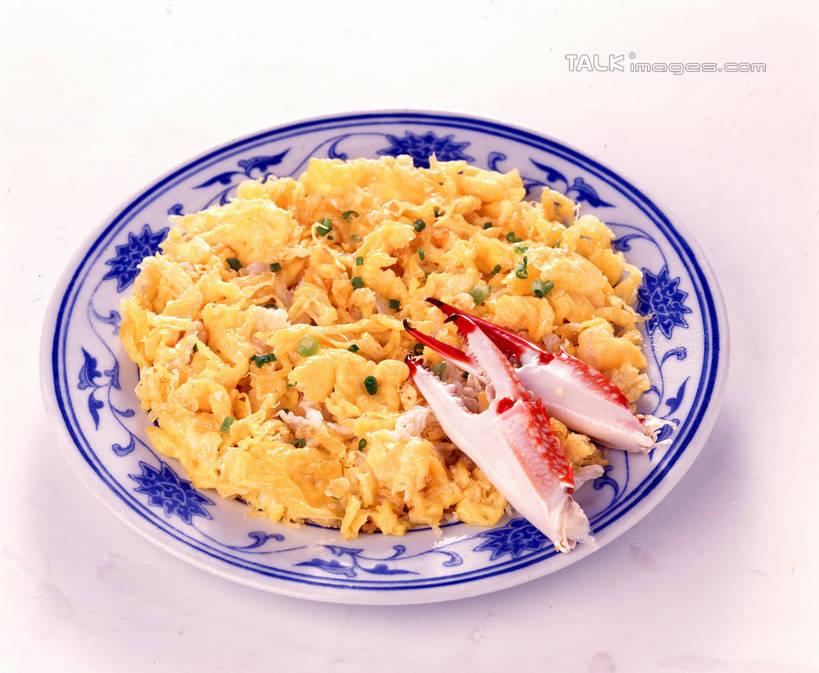 海鲜,蟹,米饭,无人,横图,俯视,室内,特写,白天,白色背景,烹饪,中餐