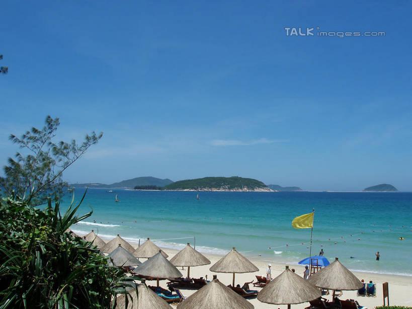 无人,横图,俯视,室外,白天,旅游,度假,海浪,海洋,美景,沙滩,山,山脉