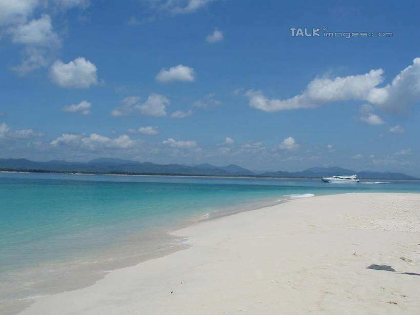 无人,横图,室外,白天,正面,旅游,度假,海浪,海洋,美景,沙滩,山,山脉