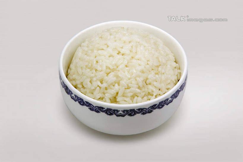 碗盛米饭简笔画