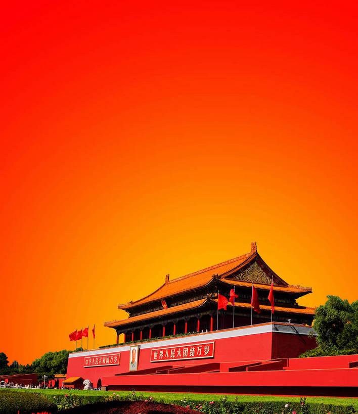 天安门,宫殿,竖图,彩色,室外,白天,背景,旅游,度假,名胜古迹,标志建筑