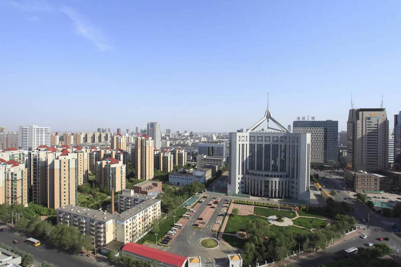 白天,城市,道路,建筑,中国,图片,景观,现代建筑,摄影,风光,辽宁,沈阳