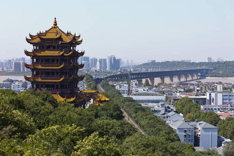 武汉风景图无水印